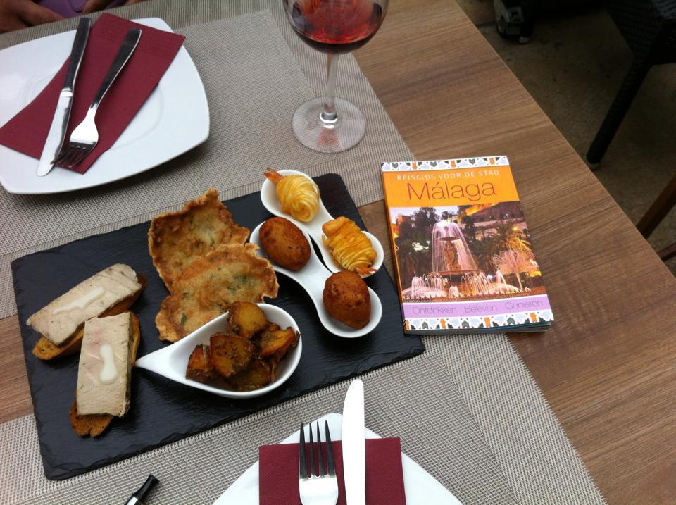 eten en drinken in malaga