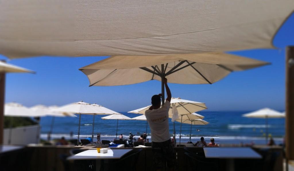 Stranden Malaga