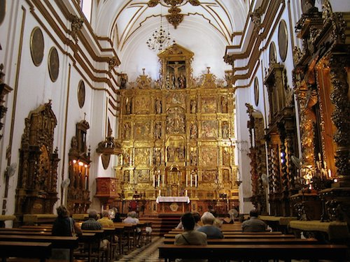 Kerk Malaga. Iglesia del sagrario