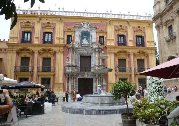 Bisschoppelijk paleis Malaga.