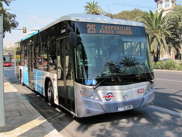 Openbaar vervoer Malaga