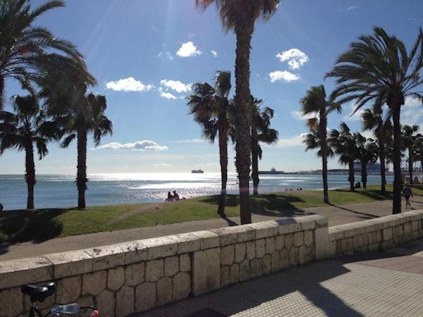Fiets huren in Malaga