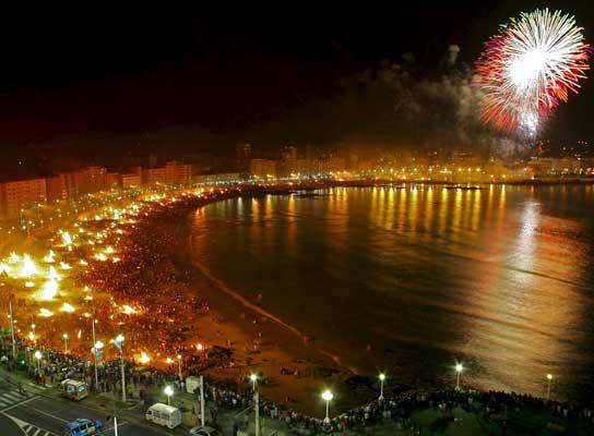 Noche de San Juan Malaga