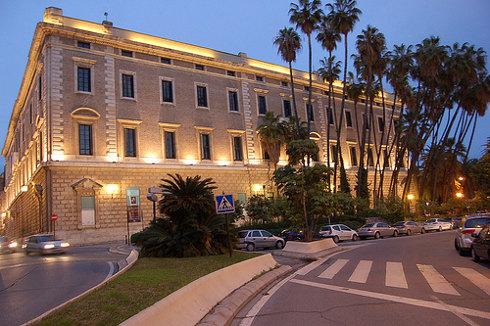 Palacio de Aduana in Malaga