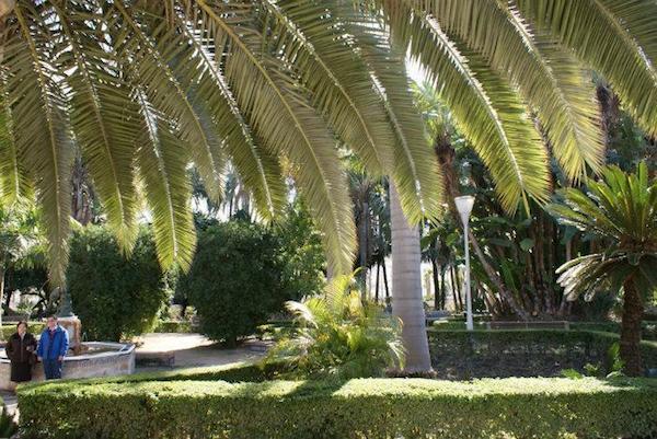 Paseo del Parque Malaga