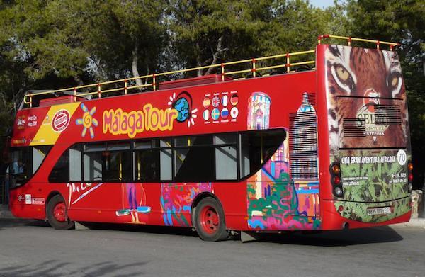 Toeristenbus Malaga