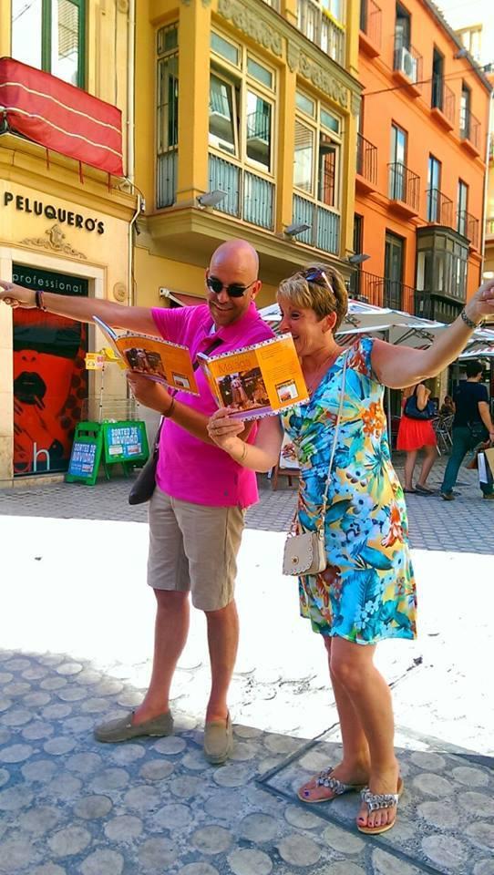 Op pad met de reisgids voor de stad Malaga