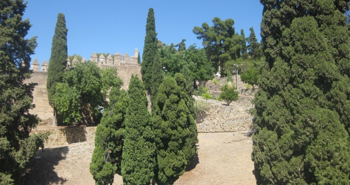 Kasteel Gibralfaro in Malaga