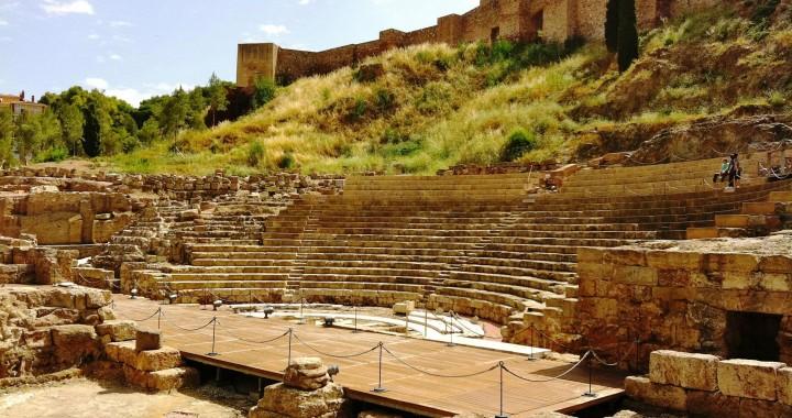 Het Romeins theater van Malaga
