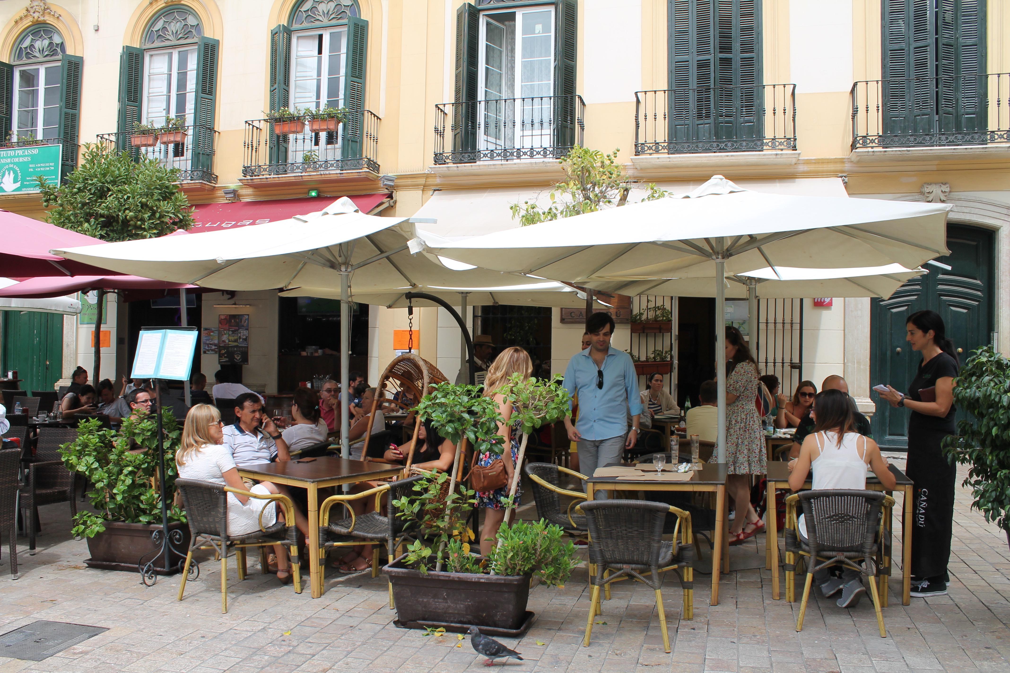 vegetarisch restaurant in Malaga