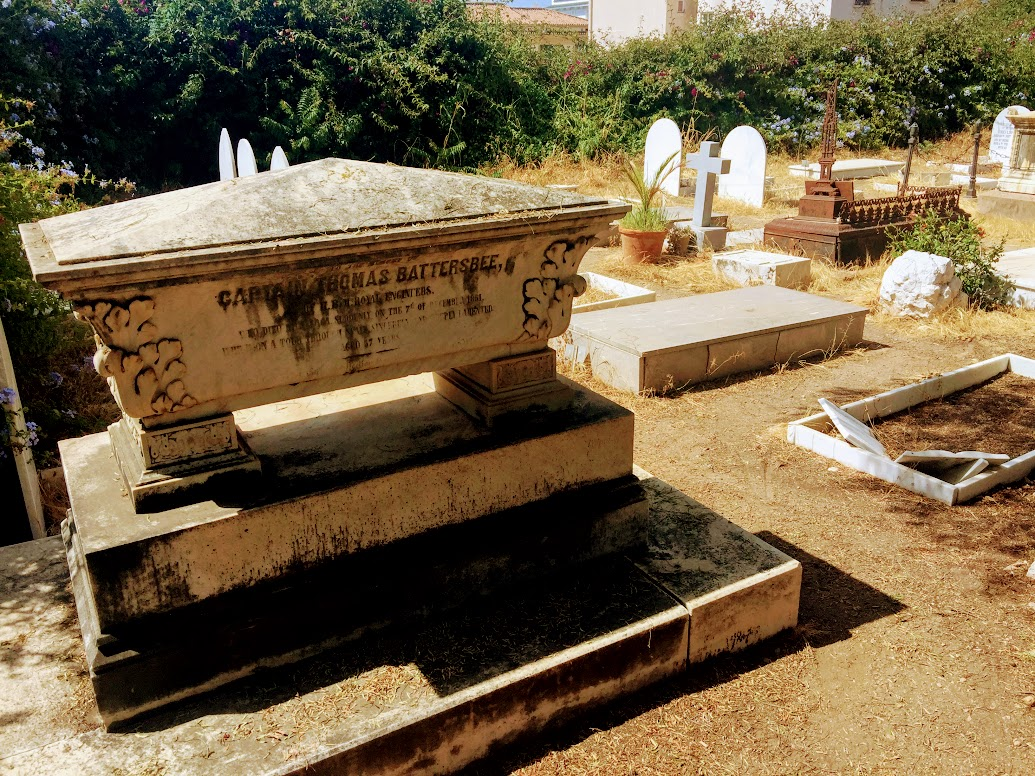 De engelse begraafplaats van Malaga